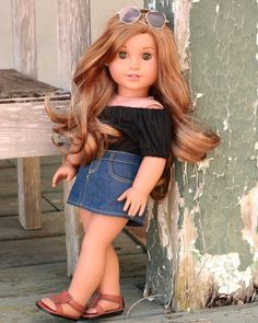 I can't wait to see all the benefit sale posts! I wish I was going again thi… - American Girl Dolls American Girl Outfits, American Girl Hairstyles, Ropa American Girl, American Girl Doll Room, Custom American Girl Dolls, American Girl Doll Pictures, American Girl Crafts, American Doll Clothes, Lea Clark American Girl