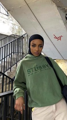 Modest Outfits, Modest Fashion, Casual Outfits, Fall Outfits, Women's Fashion, Aesthetic Clothes, Aesthetic Girl, Hijab Fashion Inspiration, Sweatshirt Outfit