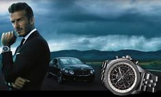 David Beckham Named The New Face of Breitling for Bentley David Bailey Photography, Watch Blog, Every Man, Luxury Watches For Men, Well Dressed Men, New Face, David Beckham, Watch Brands, Breitling