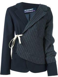 Jacquemus лоскутный пиджак