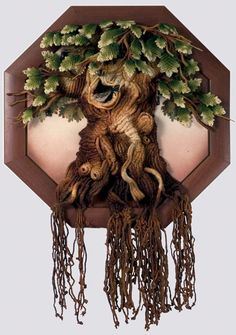 Beautiful thread art - by Gutowski Edvardovich Sergey & Lyudmila VitalievnaJust awesome crochet tree~ This should be in my ART board and Weaving Borard. ASW) Just cannot believe this crochet art-on-the-wall!Can't tell if this is crochet or macrame. Crochet Wall Art, Crochet Tree, Freeform Crochet, Irish Crochet, Crochet Crafts, Yarn Crafts, Crochet Flowers, Crochet Stitches, Crochet Projects