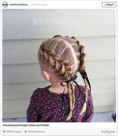Doce ideas de peinados recogidos para que tus hijas estén cómodas y... ¡muy guapas! este verano - Foto 4