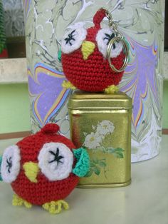 */*  OWL _ EULE _ BAYKUŞ Amigurumi,... ..... /* Hand craft - Hippie - Bohemian - Shabby - Original design*/* baykuş anahtarlık #bayanbaykuslar  www.facebook/bayanbaykuslar