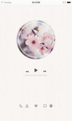 깔끔한 벚꽃 버즈런처 테마 (홈팩)