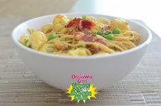 Healthy Spaghetti Carbonara | OrganWise Guys Blog #myplate
