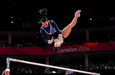 High standard: Beth Tweddle claimed the bronze medal for her performance on the uneven bars