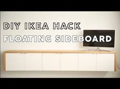 image result for diy sideboard ideas - Suspension Ikea Lombards