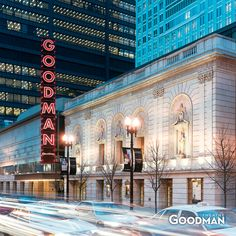 The Goodman Theatre, recipient of the Special Tony Award for Outstanding Regional Theatre (Chicago Pin of the Day, 2/13/2017).
