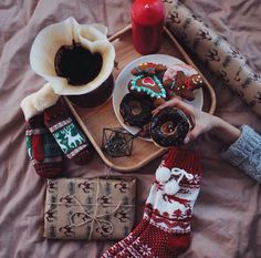 Christmas Inspiration - all the stuff that make Christmas special - gingerbread cookies and socks! | Pinterest: @libertysak ☾☆