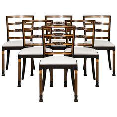 Erik Chambert Dining Chairs by Chambert Möbelfabriker in Sweden 1