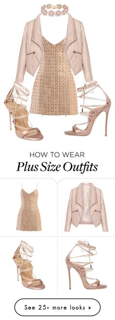 """Untitled #89"" by lukestyle on Polyvore featuring David Koma, Zizzi, Dsquared2 and BaubleBar"