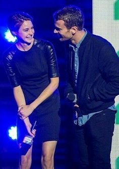 Shailene Woodley and Theo James a.k.a SHEOOOOO♥- Divergent