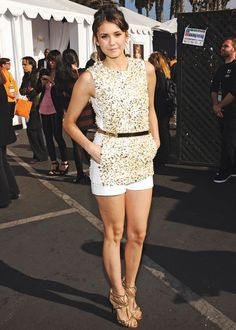 Nina Dobrev - summer style--want this outfit!