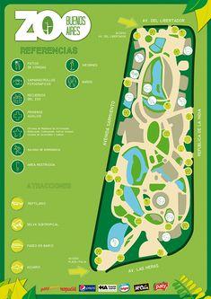 Parking Design, Signage Design, Map Design, Zoo Logo, Zoo Map, Zoo Architecture, Park Signage, Tourist Map, Brochure Inspiration
