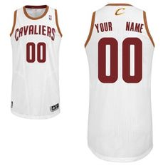 Adidas Cleveland Cavaliers Custom Authentic Home Jersey Nba Basketball  Teams a4d79e674