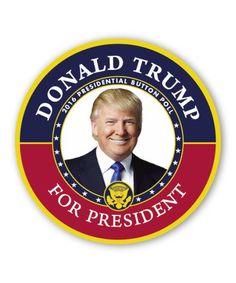Trump Poll Button