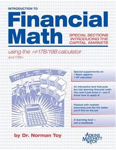 Marketing management 4th edition book pinterest books introduction to financial math using the hp 17b19b calculator fandeluxe Images