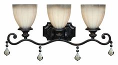 View the World Imports WI1683 3 Light Up Lighting Bathroom Fixture from the Avila Collection at LightingDirect.com.
