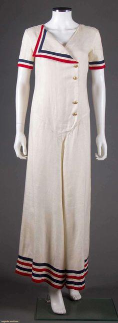 NAUTICAL JUMPSUIT, 1930-1940