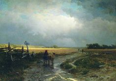 Fedor Aleksandrovich Vasiliev After the rain. The Road.