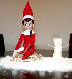 200 Easy Elf on the Shelf Ideas - Raining Hot Coupons Christmas To Do List, Office Christmas, Christmas Countdown, Christmas Goodies, All Things Christmas, Holiday Fun, Holiday Decor, The Elf, Elf On The Shelf