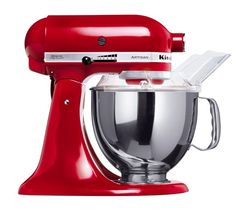 Ooo when can I have you pretty red mixer ^o^