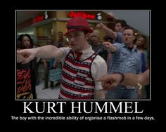 Reason 455,693 to adore Kurt Hummel
