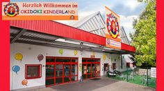 Indoor playground in Lorrach, Germany. Complete with 100-seat beer garden.