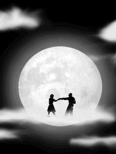 It's a marvelous night for a moondance | Gif