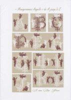 Gallery.ru / Фото #1 - JD327 - Monogrammes Angels - lyulnar