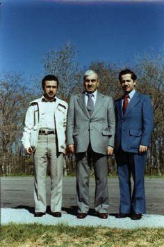 بارزانی نەمر و ادریس بارزانی و مسعود بارزانی