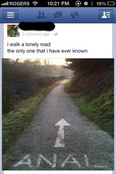 What a rough road