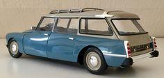 Citroën ID 19 Break 1967 Bleu Monte Carlo 1:18 Norev