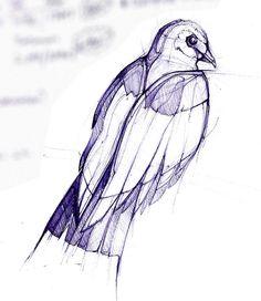 work bird by Jennifer Kraska, via Flickr