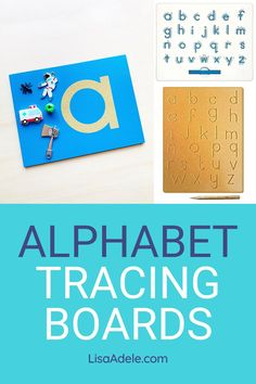 Alphabet tracing boards offer a hands-on alternative to worksheets for learning letters. Which alphabet tracing board is best as a pre-writing activity for preschool kids to learn letters? Wooden Alphabet Tracing Boards | Alphabet Wood Tracing Boards | Alphabet Tracing Preschool | Alphabet Tracing for Toddlers | Tracing Letters Activities Fine Motor | ABC Activities Preschool Letter Tracing | Montessori Sandpaper Letters Language Material for 3 Year Olds Learning to Write Letters Preschool Alphabet Activities Kindergarten, Letter Sound Activities, Homeschool Preschool Curriculum, Preschool Letters, Letter Activities, Montessori Activities, Writing Activities, Alphabet Tracing, Wooden Alphabet