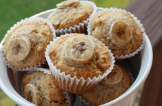 high protein snacks by Green Blender, peanut butter muffins