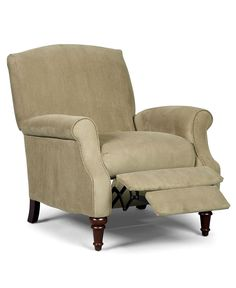 """Orlie Fabric Recliner Chair, 32""""W x 35""""D x 38""""H - Chairs - furniture - Macy's sale $349."""