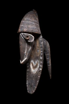 Yena figure from the Kwoma culture of the Washkuk area north of the Middle Sepik River in Papua New Guinea.