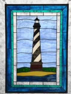 Stained Glass Cape Hatteras Lighthouse