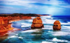12 Apostles Great Ocean Road - Victoria Australia - Photography on Acrylic