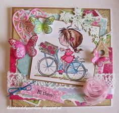 Handmade by Marleen: Nazomeren met Daisy Marianne Design, I Card, Daisy, Scrap, Gift Wrapping, Gifts, Handmade, Home Decor, Inspiration