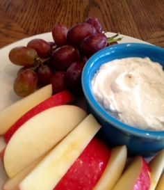 Give the kids a little sweet nutrition before they head out to trick or treat! Try our Harvest Fruit Dip | Clearly Organic Nutritionist Corner