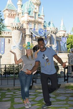 """Jodie Sweetin and Keo Motsepe recently visited the Disneyland Resort for some """"Disney Night"""" inspiration! The couple will dance to Shakira's song, """"Try Everything"""" from Walt Disney Animation Studios' hit film """"Zootopia"""" on Dancing with the Stars Disney Night."""