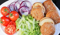 Sous Vide Burgers - Perfect Burgers Every Time! - The Spicy Apron Sous Vide Burgers, Burger Perfect, Hamburger Patties, Green Tomatoes, Cooking Time, Ground Beef, Spicy, Apron, Vegetables