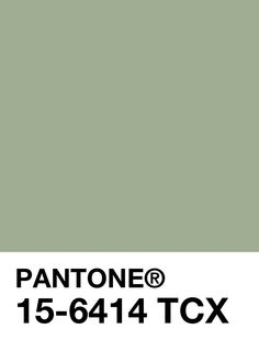 510,065,284.702 km^2 :: [PANTONE] March 4th, Color of the Day : 15-6414 Reseda