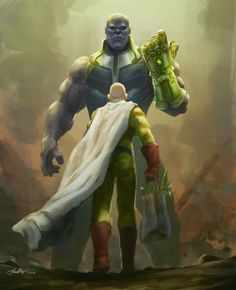 Infinite Thanos vs Saitama