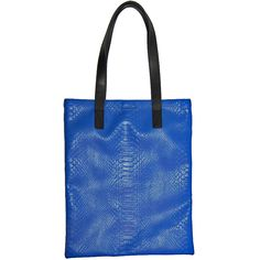 Marc by Marc Jacobs Blue Embossed Leather Tote  http://www.consignofthetimes.com/product_details.asp?galleryid=5427