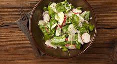 ... šalát robí nielen dobrá zelenina., #Recepty #Šaláty Spinach, Tacos, Mexican, Vegetables, Ethnic Recipes, Food, Meal, Vegetable Recipes, Hoods