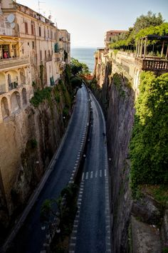 Highway to the sea, Sorrento.