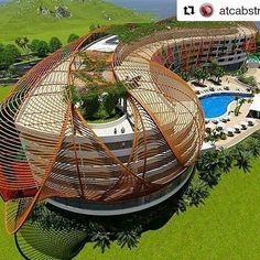 #Repost @atcabstract (@get_repost)  Esta maravilla está inspitada nada más y nada menos que en nuestra majestuosa #IslaDeMargarita.  Qué opinan?  #Repost @autodeskrevit with @repostapp  @arq.oliverbarrios is from Isla De Margarita Venezuela. Inspired by sea waves and fluidity of the wind he used #revit and #dynamo to create this 5-star hotel design. See your #Revit design here tag us @autodeskrevit and tell us about it! . . . #autodeskrevit #architecture #arquitectura #architecturelovers…